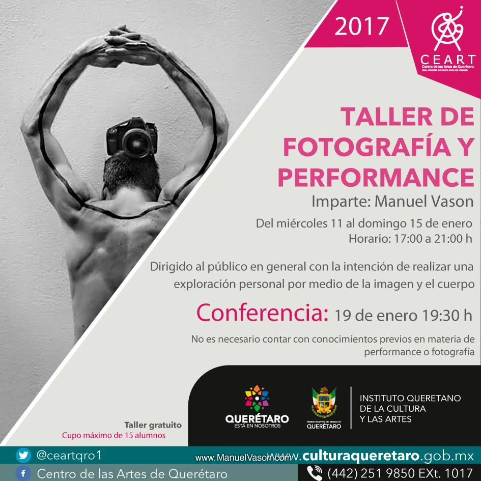 Workshop of Photography and Performance in Queretaro